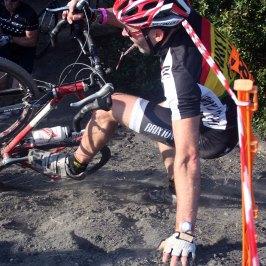 Russell Jones hitsthe coal dust in 2011