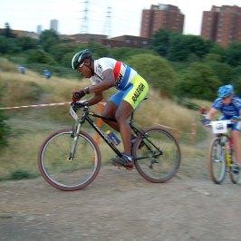 Paul Douglas leads Luton CC team mate Gavin Rumbles – 2005.