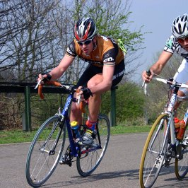SKY road pro Ian Stannard (left) and riders such as Laura Trott, Alex Dowsett, Jo Rowsell, Bradley Wiggins and Ben Swift knew Eastway well 2005