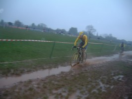 National Trophy action in 2003 OH and it rained, a lot!
