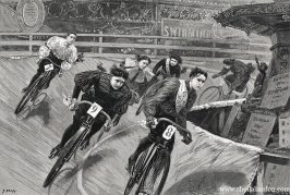 The Royal Aquarium hosted some of the earliest 'London Six Day' races and featured races for women