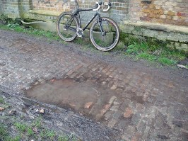 Real pave and at times very tricky
